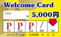 welcomecard5000